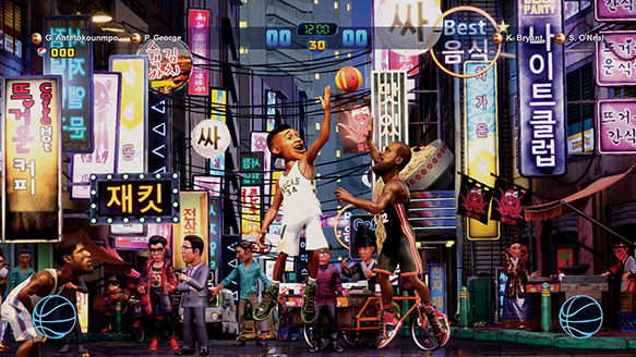 651bf77f4 In addition, the game will boast well over 100 signature moves, including  showstoppers like Michael Jordan's free throw line dunk, George Gervin's  Iceman ...